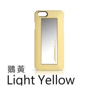 全新未拆 EVOUNI iPhone6 (4.7吋)境-愛美保護殼-鵝黃