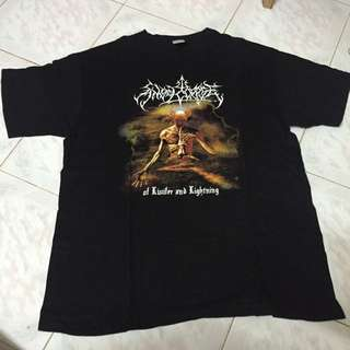 ANGELCORPSE OF LUCIFER & LIGHTNING T SHIRT L
