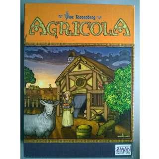 Agricola, a Farming Board Game