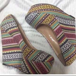 F&h Aztec Wedge