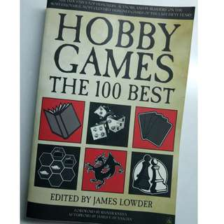 Hobby Games The 100 Best (Paperback)