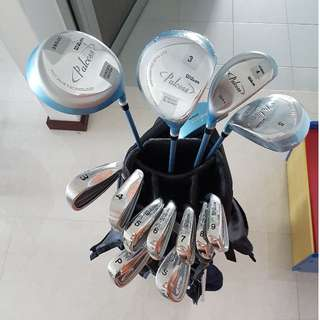 Wilson full set golf club (ladies) - for beginners (2nd hand)