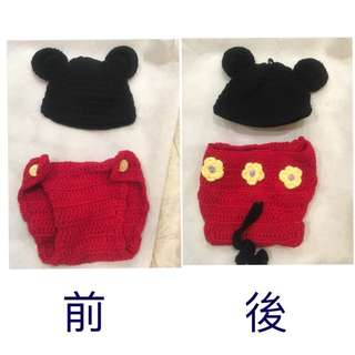 Mickey Photo Shoot Costume For Infant