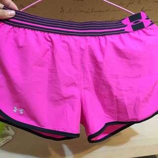 UA運動短褲m號