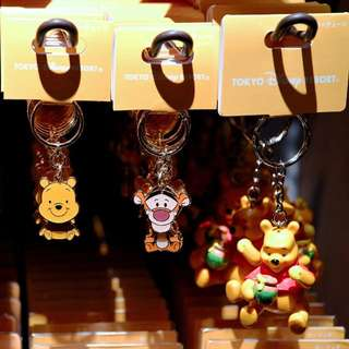READY STOCK Japan Tokyo Disneyland Disneysea Disney Resort Keychain Winnie the Pooh Tigger