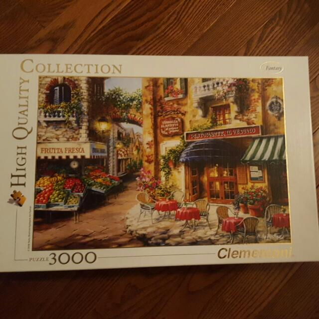 3000 Piece Puzzle - Clementoni