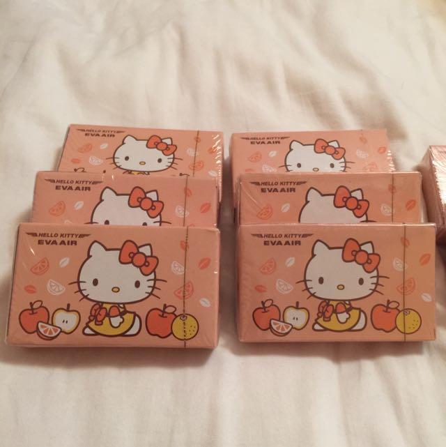 長榮限定 Hello Kitty 撲克牌