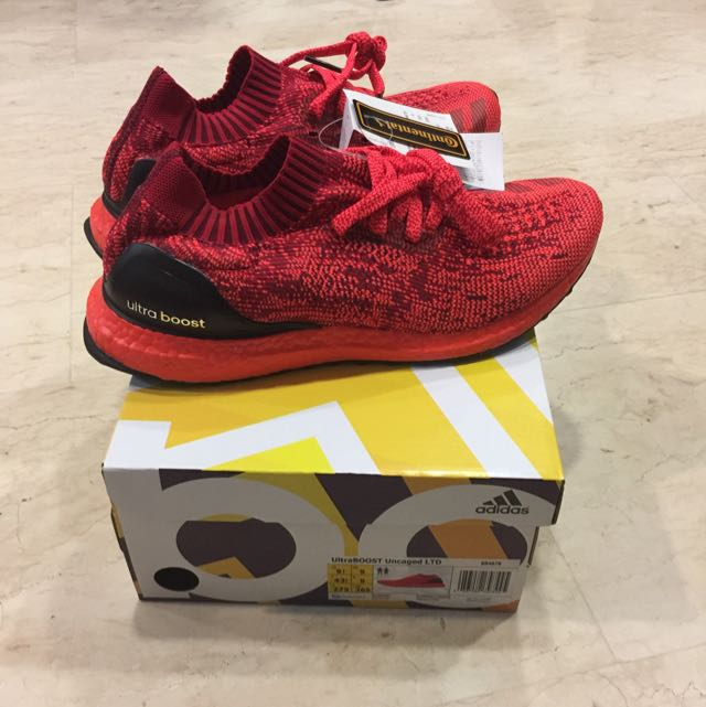 5c440f386 Adidas Ultra Boost Uncaged Triple Red Ltd