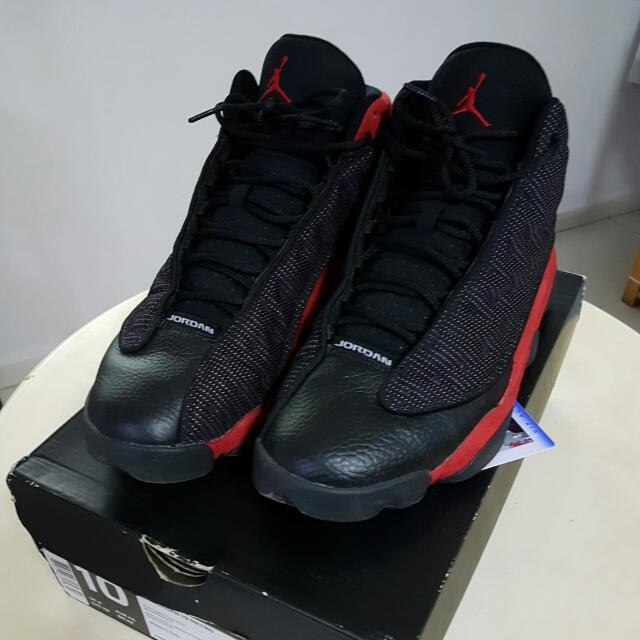 best service 3cf89 53d9b ... greece reserved air jordan 13 bred or black cat us10 mens fashion  footwear on carousell 66e33