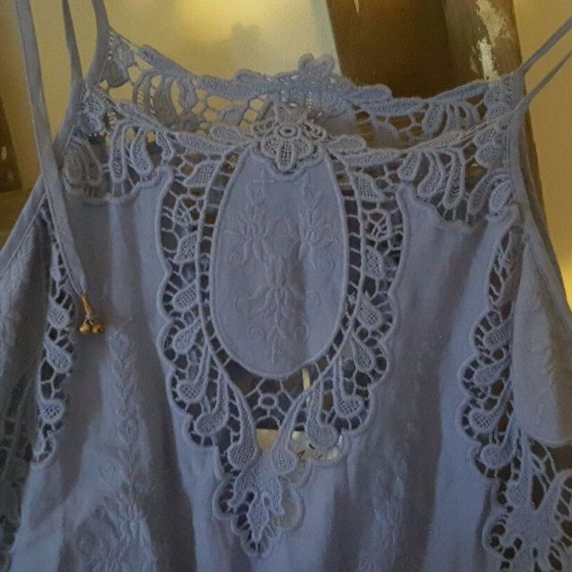 Arnhem Gracie Lace Iris Playsuit Sz L