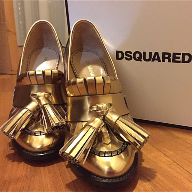 44d1e7992c Authentic Dsquared2 High Heels Size:38, Luxury, Apparel on Carousell