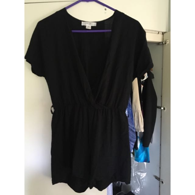 Black Playsuit XS