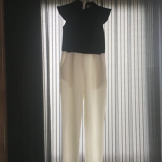 Black&White Jumpsuit