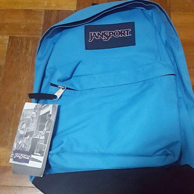 [INSTOCKS] BN JANSPORT BAG IN BLUE 🔵