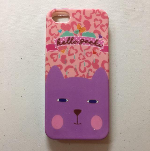 Casing IPhone 5 Cat (Scoop)