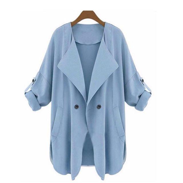 Casual Coat V-Neck (Brand New)