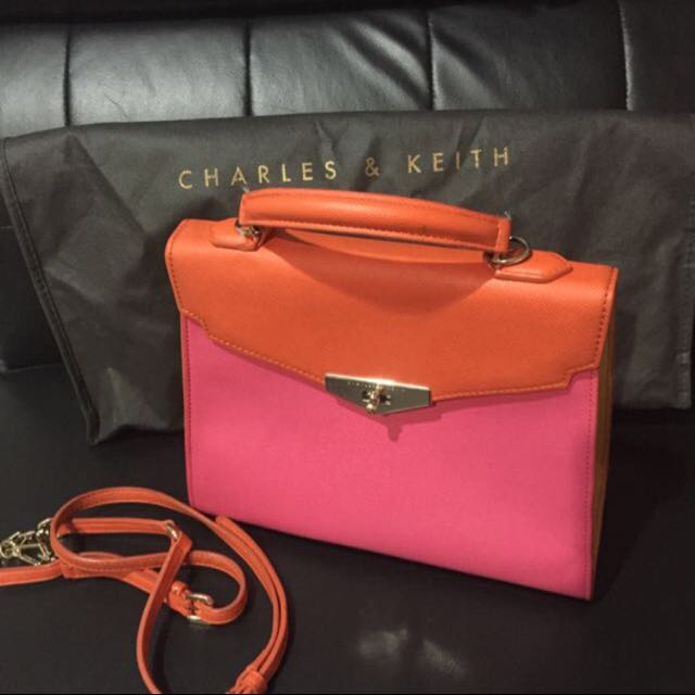 Colorfull Charles & Keith Bag