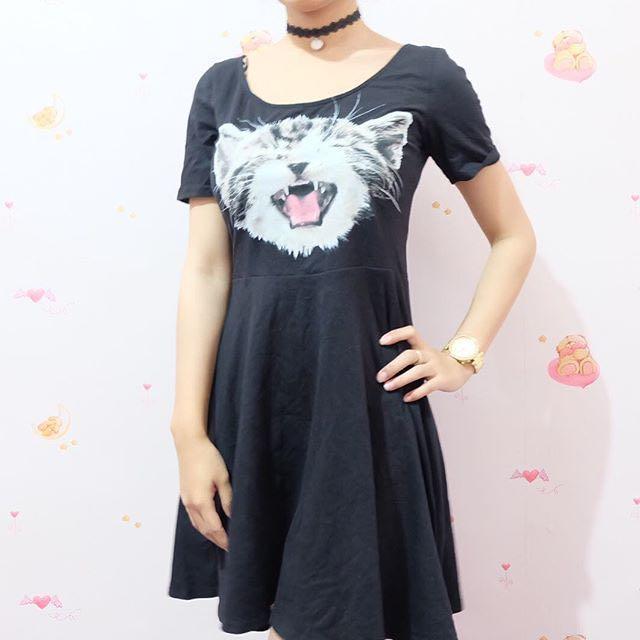 Dress Kucing (H&M)