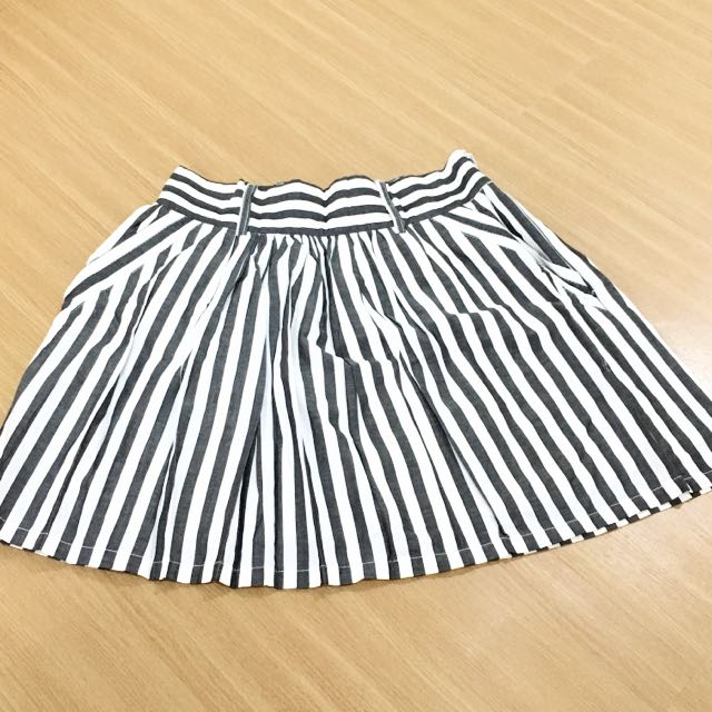 F21 Stripes Skirt