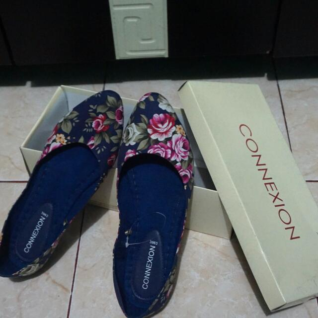 Flat Shoes Floral Connexion