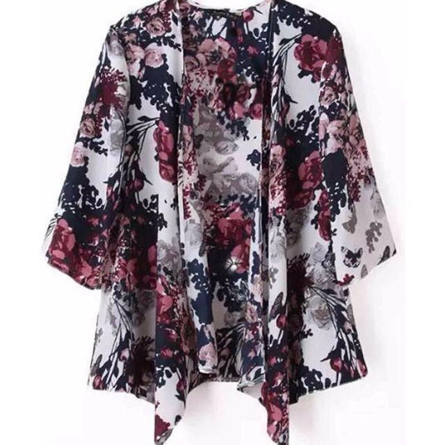 Floral Kimono Cardigan (Brand New)