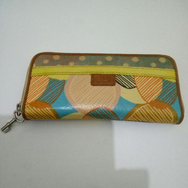 Fossil Keyper Wallet Preloved