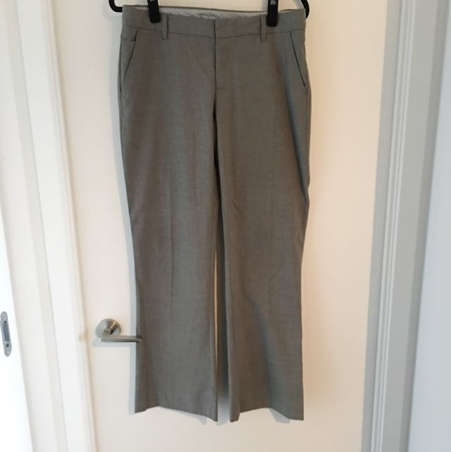 Gap Light Grey Dress Slacks