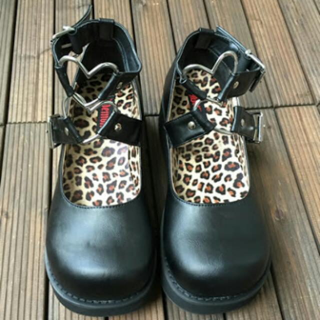 Demonia Shoes Mary Jane Sprite 02 - Gothic