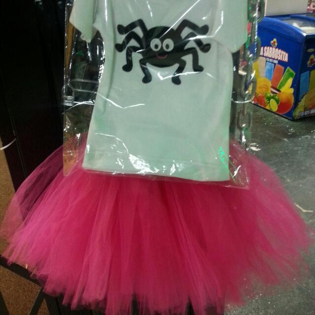 Halloween t shirt and tutu set