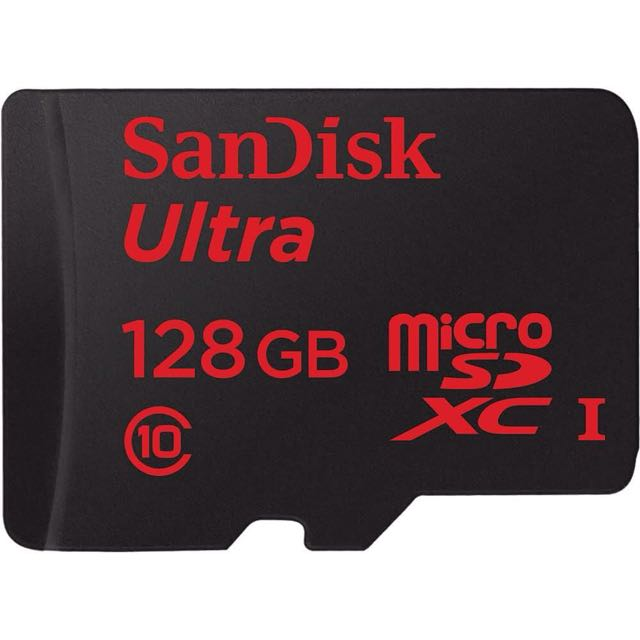 Sandisk 128GB Ultra Micro SD SDXC Class 10 80MB/s Mobile Phone TF Memory Card AU