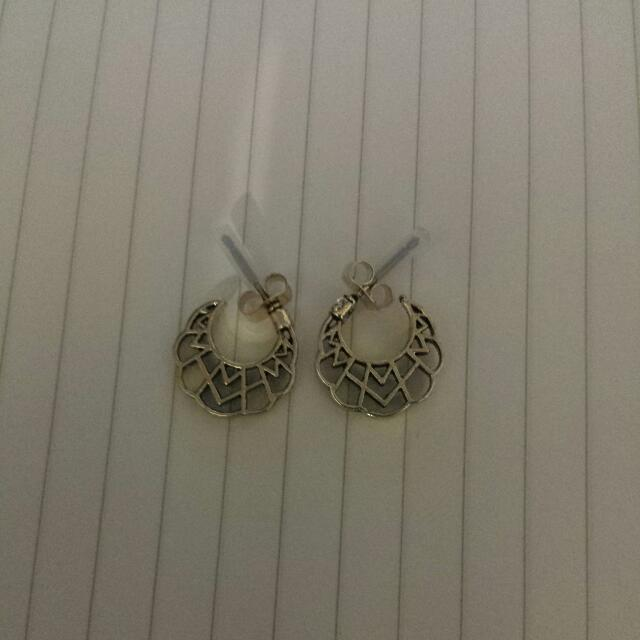 H&M Golden Coloured Earrings
