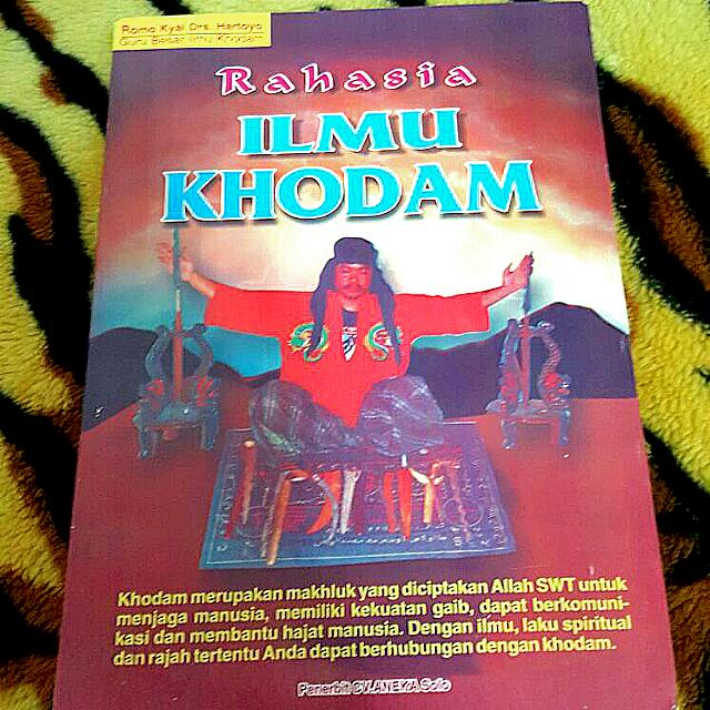 Ilmu Khodam ( Indonesia Occult Limited Edition ) ( Indonesia / Malay  Version )