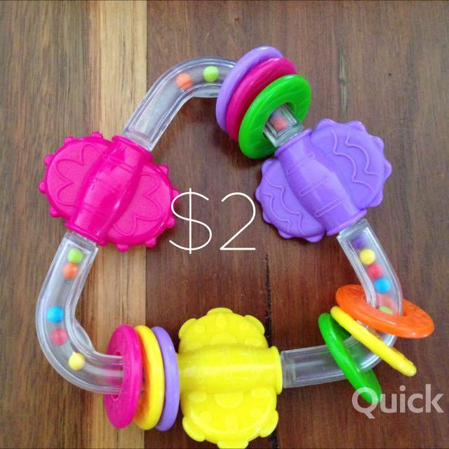 Infant Toys $2 each