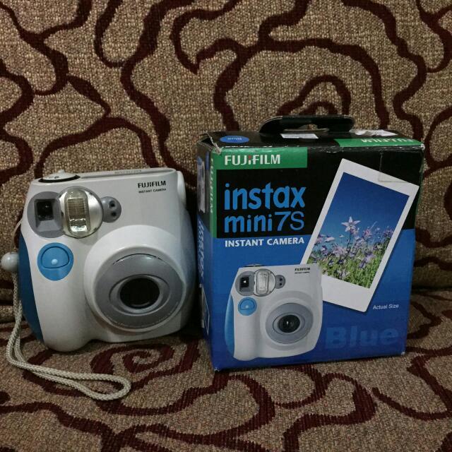 Instax Mini 7s Blue