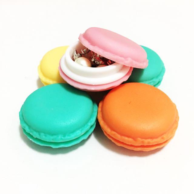 Jewelry macaron storage boxes