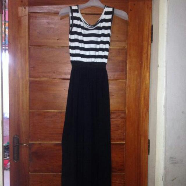 long dress stripes