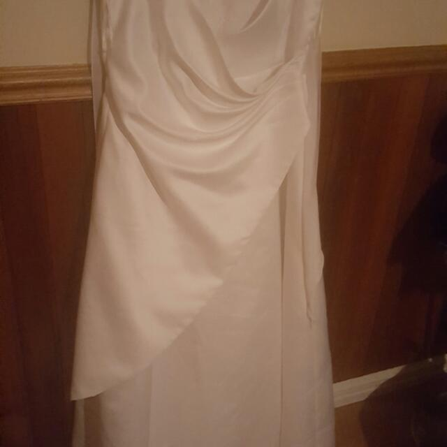 Mari Gourlay Wedding Deb Dress 14-20