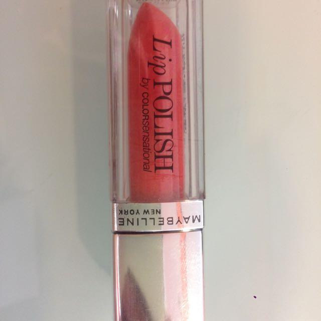Maybelline Lip Polish Warna Peach