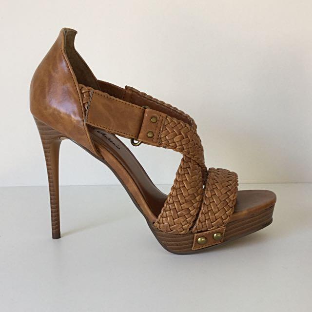 Michael Antonio Brown Stiletto Sandals Size 5.5
