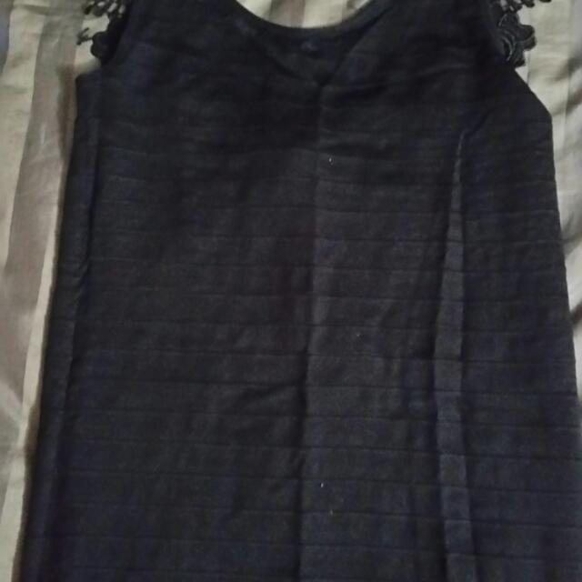 Mini Black Bodycon Dress