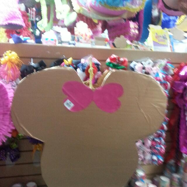 Minnie mouse Gold And Pink pinata