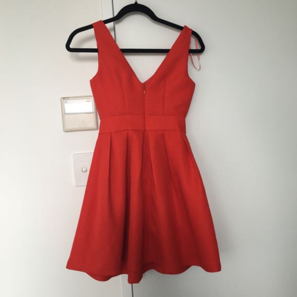 MISS SELFRIDGE Size 6 Petite Bow Dress