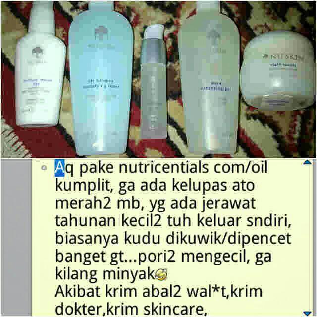 Paket Nutricentials Nu Skin