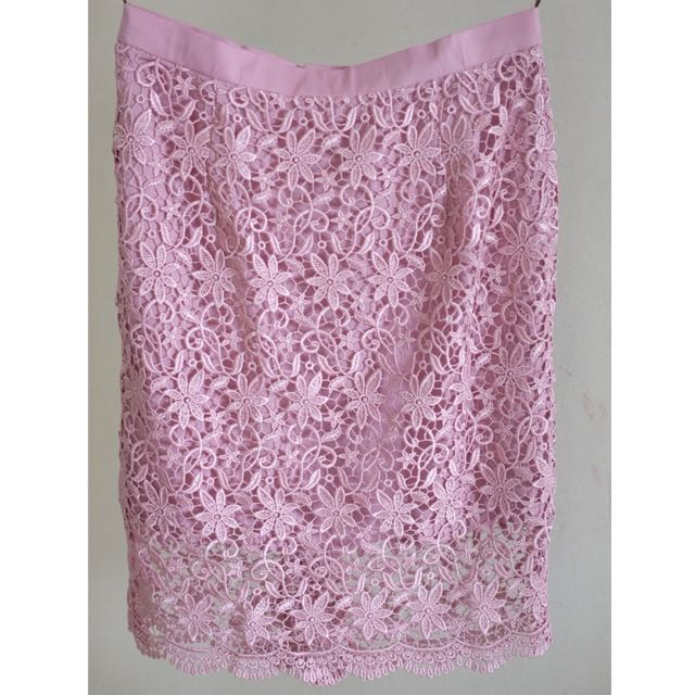 Prada Lace Skirt