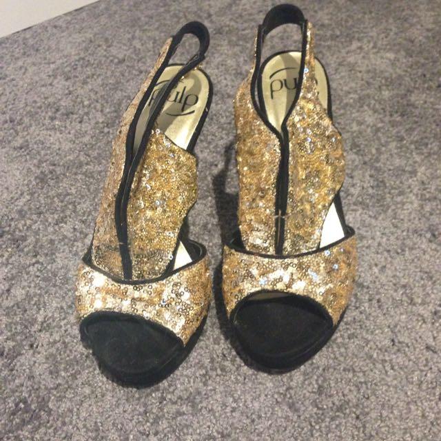 Pulp Gold Sequin Heela