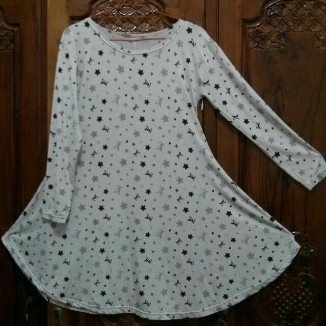 Dress LV Cream