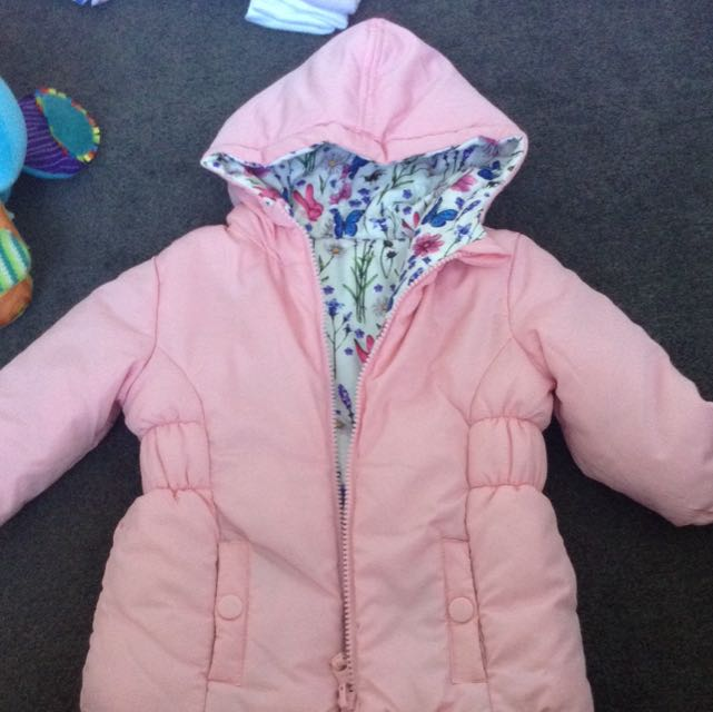 Reversible Winter Jacket 6 Months