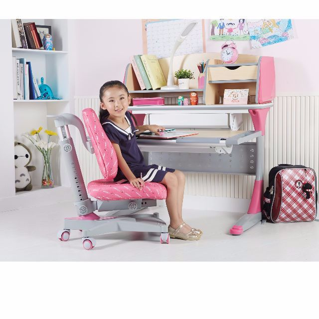s100 kids height adjustable ergonomic study table and chair set