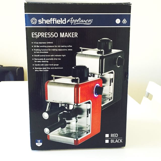 Sheffield Espresso Maker