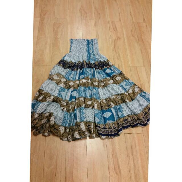 Summer Tube Dress Size 6-8